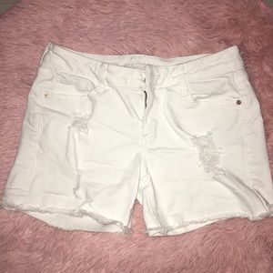 ARIZONA | white Jean shorts